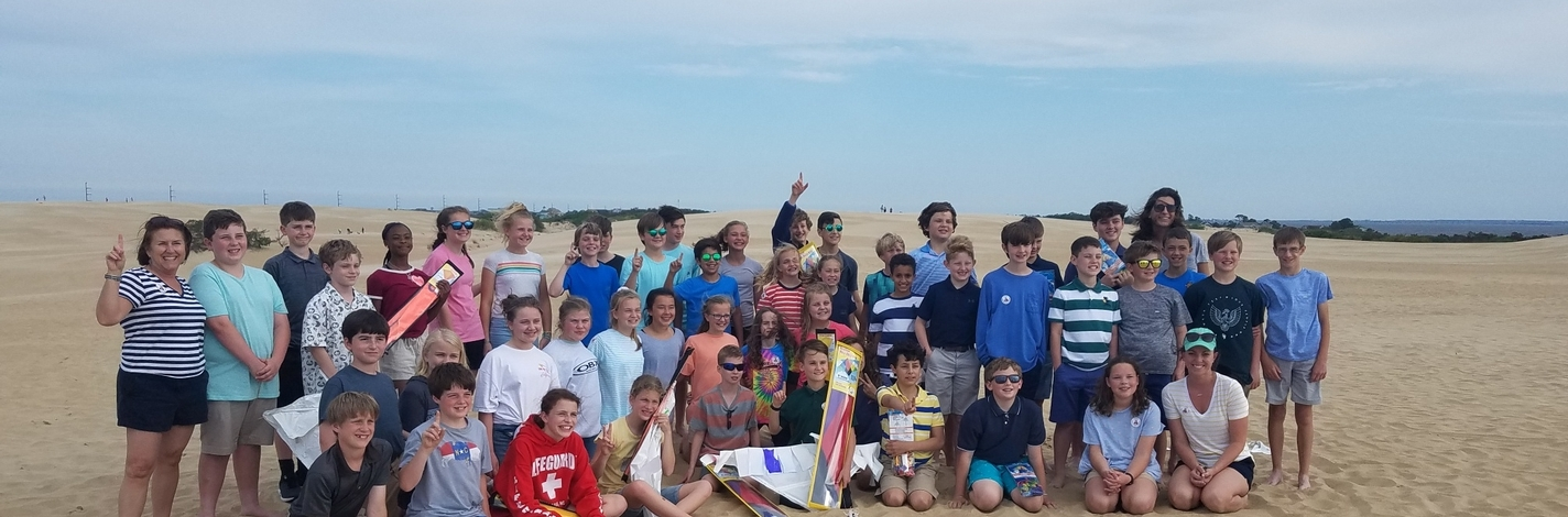 middle school spring trip to coast